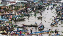 Việt Nam đạt giải Nhất cuộc thi ảnh về những tiến bộ trong phát triển tại khu vực Tiểu vùng Mê-kông mở rộng