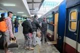Còn nhiều vé tàu từ Hà Nội đi các tỉnh phía Nam