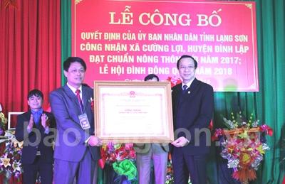 xa-cuong-loi-huyen-dinh-lap-don-bang-cong-nhan-xa-dat-chuan-nong-thon-moi