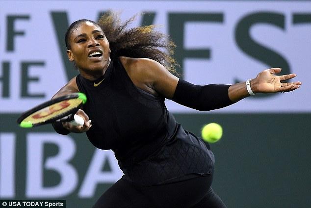 Serena Williams thắng trận ra quân Indian Wells 2018