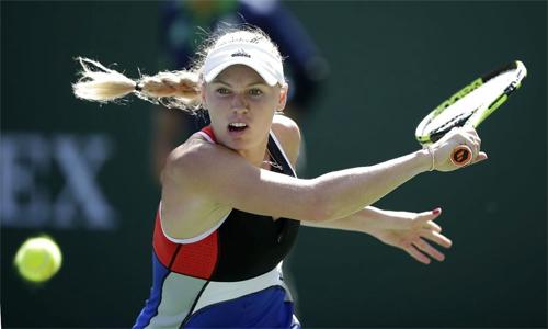 Wozniacki bị loại ở vòng bốn Indian Wells