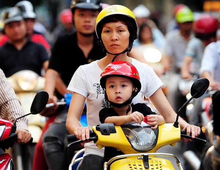 Bảo vệ trẻ em trước nguy cơ tai nạn giao thông