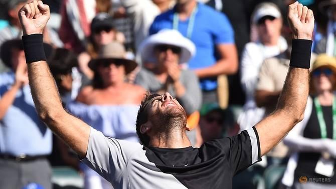 Đánh bại Federer, Del Potro vô địch Indian Wells 2018