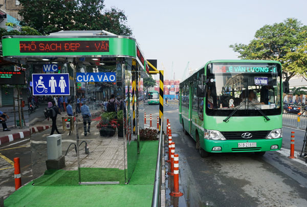 TP Hồ Chí Minh đầu tư gần 10 tỷ đồng xây dựng 3 bến xe buýt mới