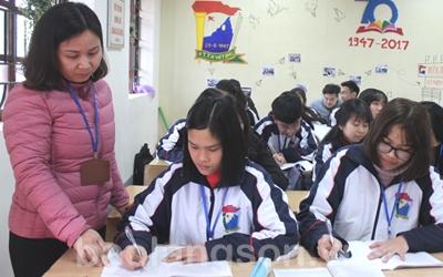 Trường THPT Việt Bắc học và làm theo gương Bác