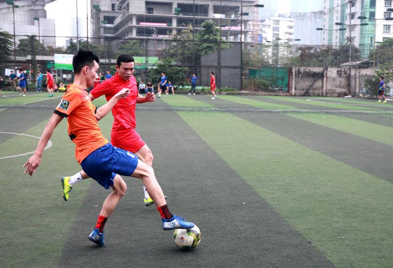Khai mạc Giải bóng đá Vietnam Post mở rộng 2018