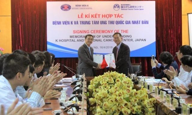 Việt Nam - Nhật Bản đẩy mạnh hợp tác điều trị ung thư