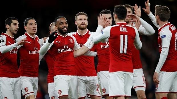 Thắng đậm 4-1, Arsenal rộng cửa vào bán kết Europa League