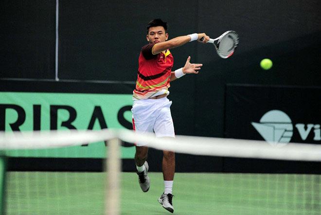 Việt Nam nhất bảng A ở nhóm 3 Davis Cup 2018