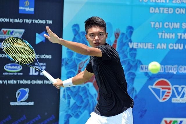 Các tay vợt chủ nhà dừng chân ở vòng 1/16 Việt Nam F2 Futures