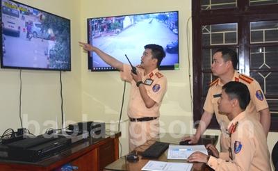 Camera giám sát góp phần đảm bảo an toàn giao thông