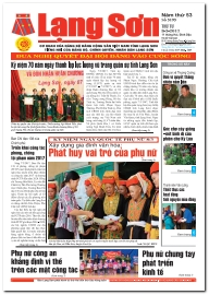 Báo Lạng Sơn số 5195 ngày 08-03-2017