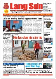 Báo Lạng Sơn số 5196 ngày 09-03-2017