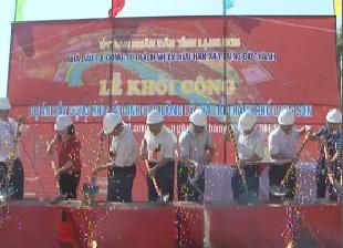 Khởi công dự án xây dựng khu tái định cư đường Lý Thái Tổ - TP.Lạng Sơn