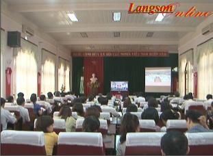 Hội nghị trực tuyến toàn quốc: Sơ kết 3 năm thực hiện Chỉ thị 03 của Bộ Chính trị