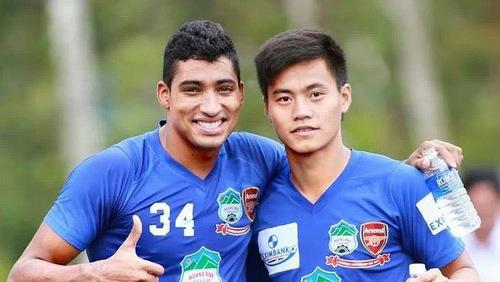 Tạ Thái Học - cầu thủ giúp HAGL hạ gục Than Quảng Ninh