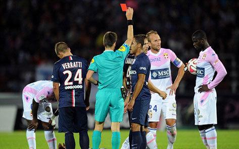 Vắng Ibrahimovic, PSG bị Evian cầm hòa