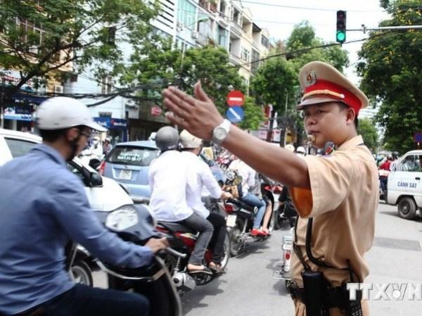Hà Nội: Phân luồng giao thông quanh khu vực Nhà Quốc hội mới