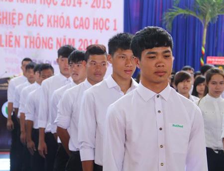 Tuyển thủ U19 Việt Nam vào Đại học