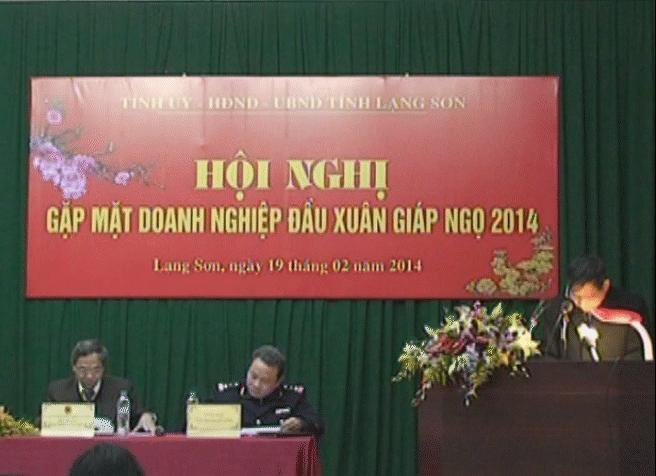 Gặp mặt doanh nghiệp đầu Xuân Giáp Ngọ 2014