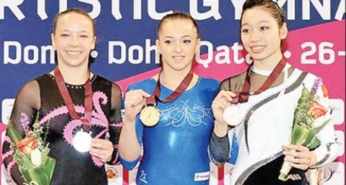 Phan Thị Hà Thanh đoạt Huy chương đồng thể dục dụng cụ thế giới