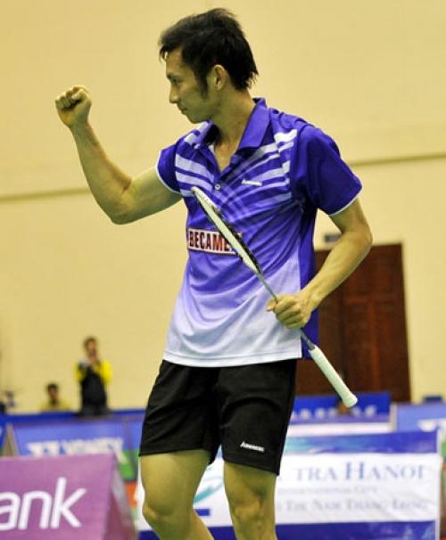 Tiến Minh xứng danh tay vợt hạng 10 thế giới