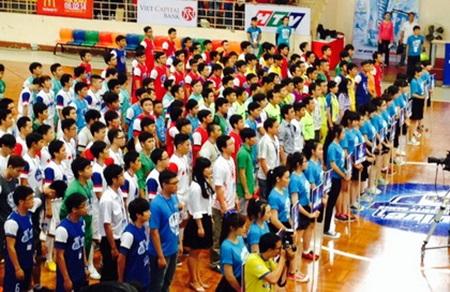 Khai mạc giải thể thao sinh viên 2014