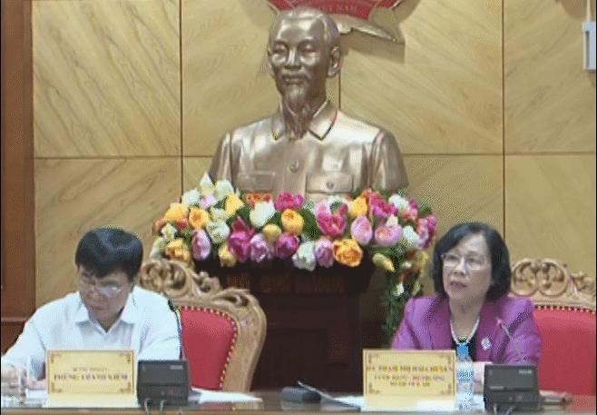 Lãnh đạo Tỉnh ủy, UBND tỉnh làm việc với Bộ trưởng Bộ LĐTB&XH