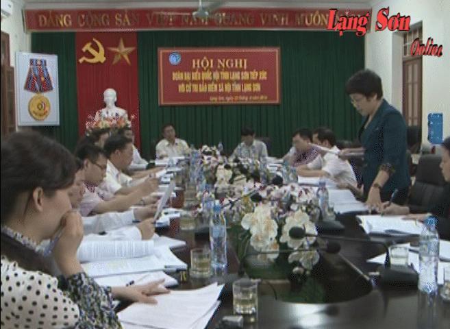 Đại biểu Quốc hội tiếp xúc cử tri BHXH tỉnh