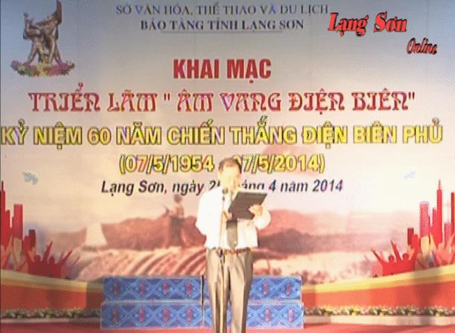"""Tổ chức triển lãm chuyên đề """" Âm vang Điện Biên"""""""