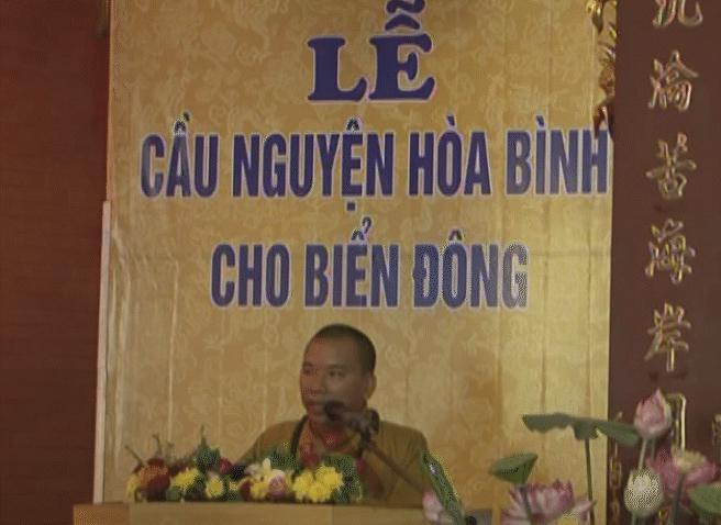 Phật giáo Lạng Sơn cầu nguyện hòa bình cho Biển Đông