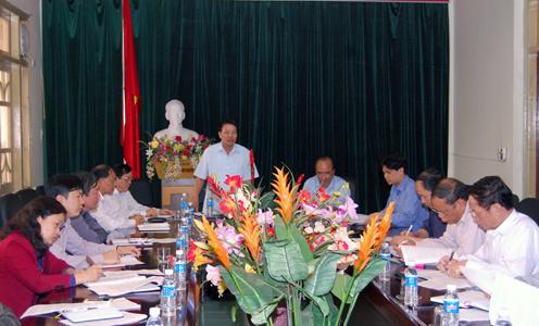 Kiểm tra xây dựng nông thôn mới tại Lạng Sơn