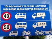 Điều chỉnh hàng loạt biển báo hạn chế tốc độ trên Quốc lộ