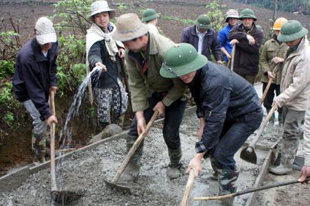 Nhân dân đóng góp gần 40 tỷ đồng xây dựng nông thôn mới