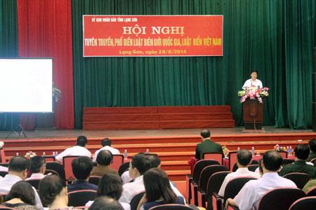 Tuyên truyền Luật Biển Việt Nam, Luật Biên giới quốc gia