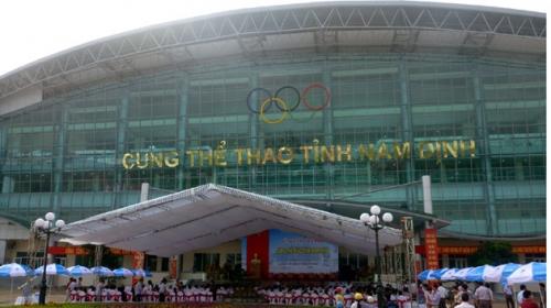 Khánh thành, đưa vào sử dụng cung thể thao Nam Định