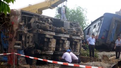 Tai nạn giao thông đường sắt nghiêm trọng tại Nam Định