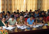 Hội phụ nữ nâng cao chất lượng cán bộ