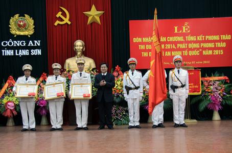 """Công an tỉnh Lạng Sơn: Phát động phong trào thi đua """"Vì an ninh Tổ quốc"""" năm 2015"""