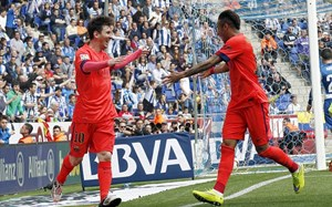 Messi – Neymar ghi bàn, Barca thắng derby Catalan
