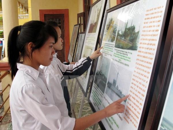 Trưng bày tư liệu Hoàng Sa, Trường Sa của Việt Nam tại Ninh Bình