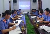 Chi bộ Viện Kiểm sát nhân dân thành phố Lạng Sơn: Chú trọng lãnh đạo kiểm sát giải quyết án hình sự