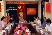 Đảng ủy Khối CCQ tỉnh: Tăng cường kiểm tra, giám sát trong Đảng