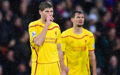 Bị Crystal Palace lội ngược dòng, Liverpool tụt xuống vị trí thứ 13