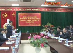 Cục Hải quan Lạng Sơn: Vận hành chính thức hệ thống thông quan tự động VNACCS/VCIS