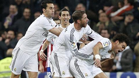 """""""Thiên thần"""" tỏa sáng, Real nghiền nát Atletico Madrid"""