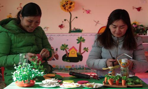 Trường Mầm non I xã Quang Lang: Học Bác từ những việc làm cụ thể, thiết thực