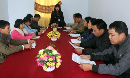 Đảng bộ Chi Lăng: Quan tâm củng cố tổ chức cơ sở đảng