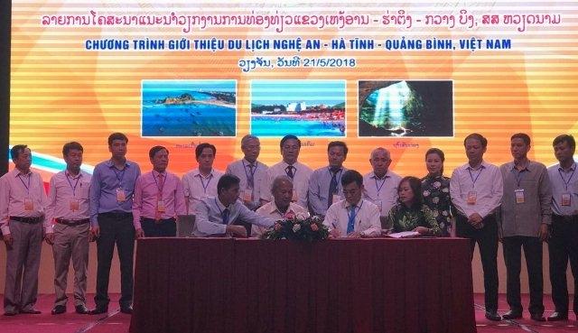 Quảng bá du lịch ba tỉnh miền trung tại Lào
