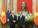 Chủ tịch nước hội đàm với Toàn quyền Australia